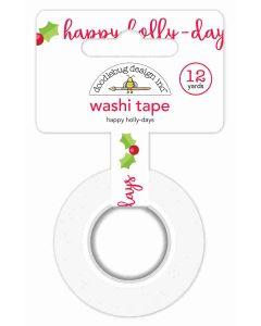 Doodlebug Happy Holly-Days Washi Tape