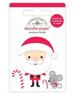 Sweet Santa Doodle-Pops - Christmas Magic - Doodlebug Design