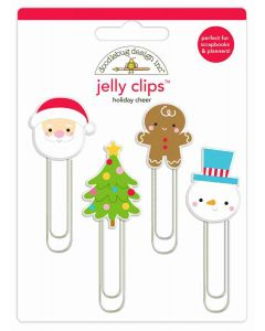 Holiday Cheer Jelly Clips - Christmas Magic - Doodlebug Design