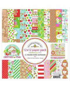Doodlebug Christmas Town Collection Kit