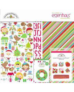 Doodlebug Christmas Town Scrapbook Kit