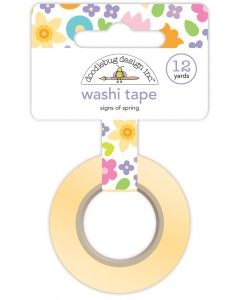 Signs of Spring Washi Tape