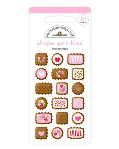 Chocolate Box Shape Sprinkles