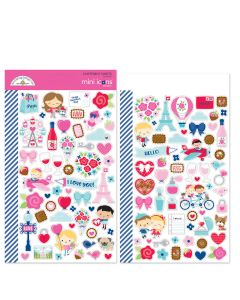French Kiss Mini Icons Stickers