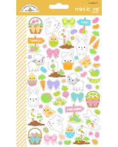 Hoppy Easter Mini Icon Stickers