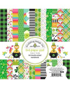 """Lots O' Luck 6"""" x 6"""" Paper Pad"""