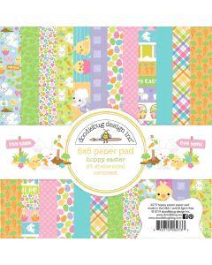 "Hoppy Easter 6"" x 6"" Paper Pad"