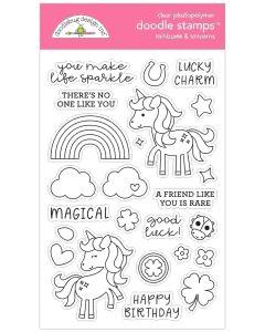 Rainbows & Unicorns Doodle Stamps