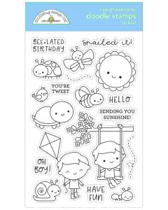 Oh Boy! Doodle Stamps