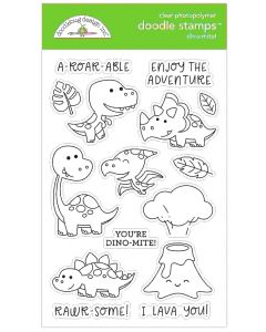 Dino-mite! Doodle Stamps