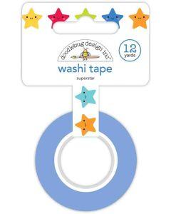 Super Star Washi Tape - School Days - Doodlebug Design