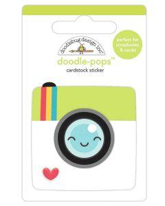 Picture Perfect Doodle-Pops - I Heart Travel - Doodlebug Design