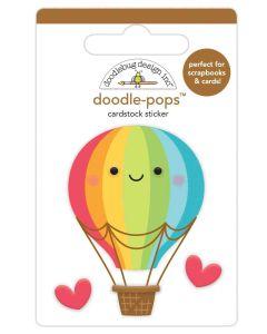 Up, Up & Away Doodle-Pops - I Heart Travel - Doodlebug Design