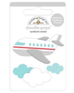 Jet Set Doodle-Pops - I Heart Travel - Doodlebug Design