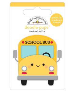 School Bus Doodle-Pops - School Days - Doodlebug Design