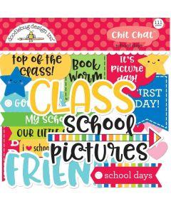 School Days Chit Chat - Doodlebug Design
