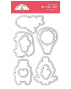 Let's Getaway Doodle Cuts - I Heart Travel - Doodlebug Design