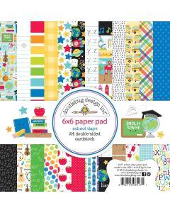 "School Days 6"" x 6"" Paper Pad - Doodlebug Design"