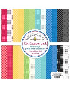 School Days Petite Print Assortment Pack - Doodlebug Design