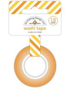 Candy Corn Stripe Washi Tape - Candy Carnival - Doodlebug Design