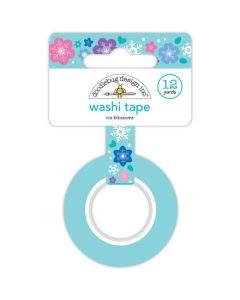 Ice Blossoms Washi Tape - Winter Wonderland - Doodlebug Design