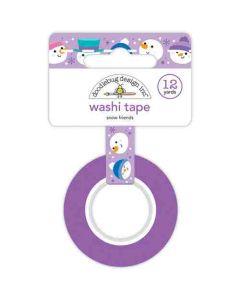 Snow Friends Washi Tape - Winter Wonderland - Doodlebug Design *