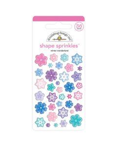 Winter Wonderland Shape Sprinkles - Doodlebug Design *