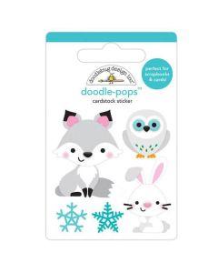 Foxy & Friends Doodle-Pops - Winter Wonderland - Doodlebug Design