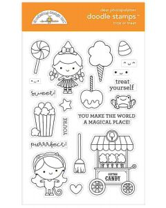 Trick or Treat Doodle Stamps - Candy Carnival - Doodlebug Design