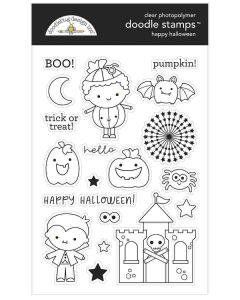 Happy Halloween Doodle Stamps - Candy Carnival - Doodlebug Design