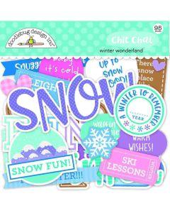 Winter Wonderland Chit Chat - Doodlebug Design *
