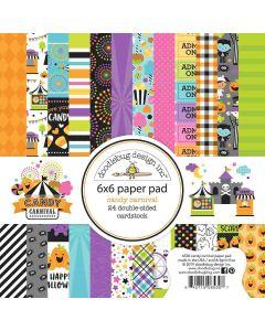 "Candy Carnival 6"" x 6"" Paper Pad - Doodlebug Design"