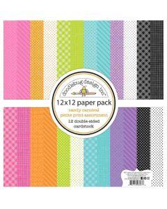Candy Carnival Petite Print Assortment Pack - Doodlebug Design