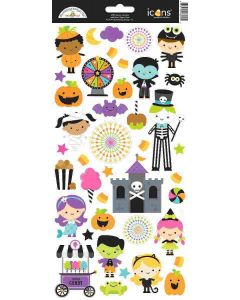Candy Carnival Icons Stickers - Doodlebug Design