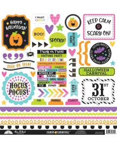 Candy Carnival This & That Stickers - Doodlebug Design