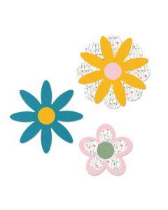 Flower Layers #15 Bigz Die - Let It Bloom - Sizzix