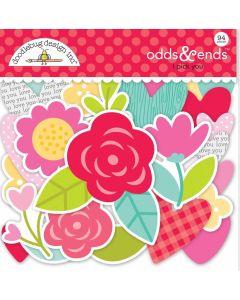 I Pick You Odds & Ends - Love Notes - Doodlebug Design *