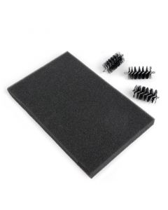 Replacement Die Brush Heads (3 Pack) & Foam Pad - Sizzix