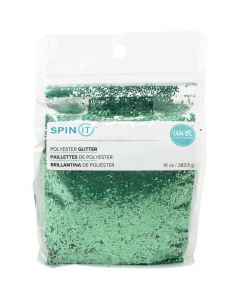Green Chunky Glitter - Spin IT - We R Memory Keepers