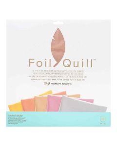 """Shining Starling Foil Sheets 12"""" x 12"""" - Foil Quill - We R Memory Keepers"""