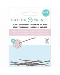 Bobby Pin Backers - Button Press - We R Memory Keepers