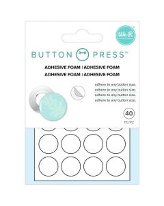 Adhesive Foam - Button Press - We R Memory Keepers
