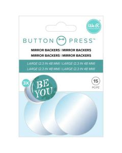 Mirror Backers - Button Press - We R Memory Keepers