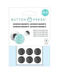 Adhesive Magnets - Button Press - We R Memory Keepers*