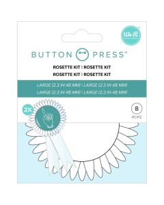 Rosette Kit - Button Press - We R Memory Keepers