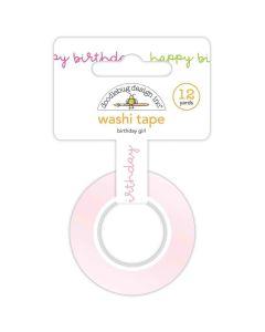 Birthday Girl Washi Tape - Hey Cupcake - Doodlebug*