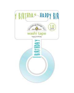 Happy Birthday Washi Tape - Party Time - Doodlebug*