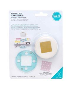 "Square Clear-Cut Punch (1"") - We R Memory Keepers"