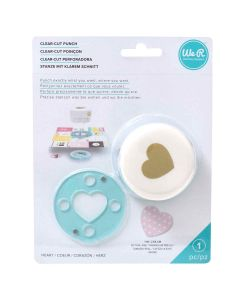 "Heart Clear-Cut Punch (1"") - We R Memory Keepers"