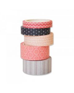 Assorted Patterns Washi Tape - Making Essential - Sizzix*